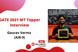 GATE 2021 MT Topper Interview AIR 9, Gaurav Verma- (Stick to the Syllabus & Previous Papers)