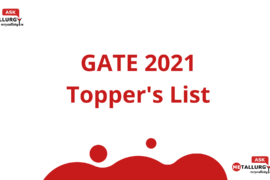 GATE 2021 MT (Metallurgy) Cut-Off and Toppers list